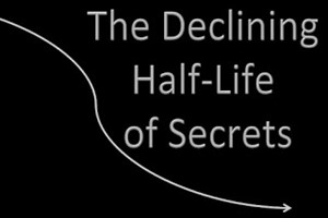 the declining half-life of secrets