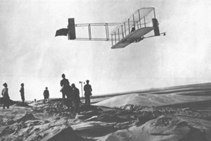 ingenuity and determination of the Wright Brothers