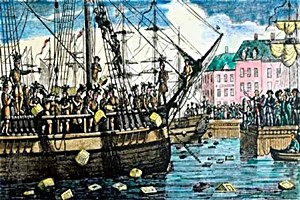 myths about the Boston Tea Party protest