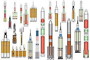 NASA rocket designs